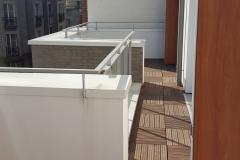 Terrasses au 4ème étage
