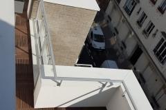 Terrasses du 4ème étage